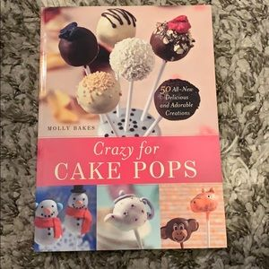 Crazy for Cake Pops Cook book